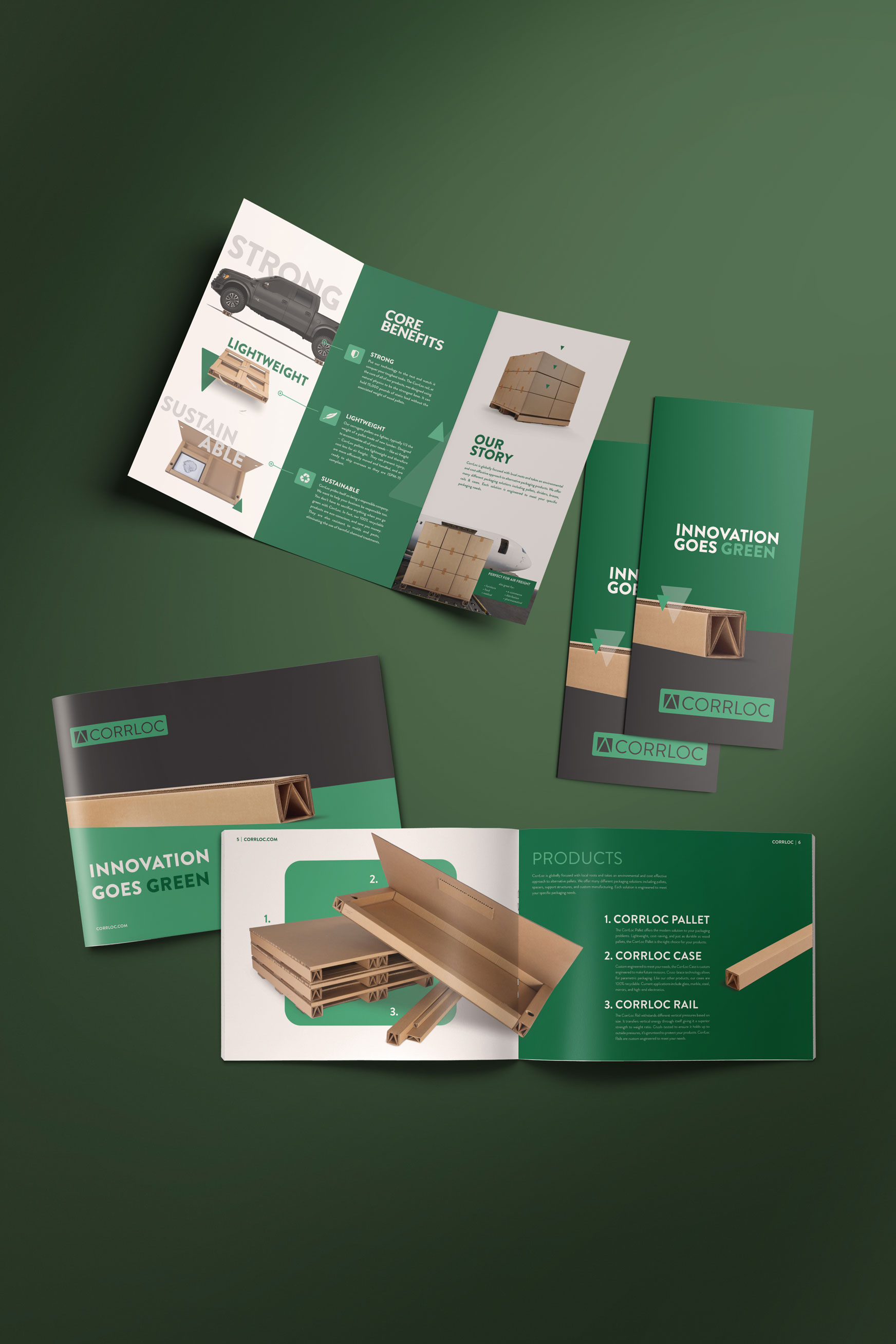 Custom Brochure + Print Design