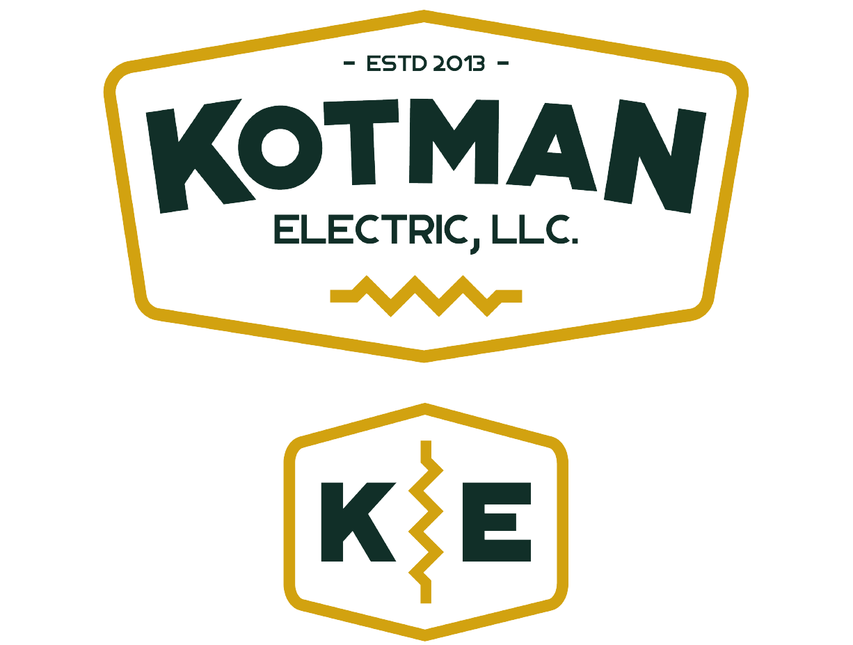 retro badge logo design for electric company in Grand Rapids michigan