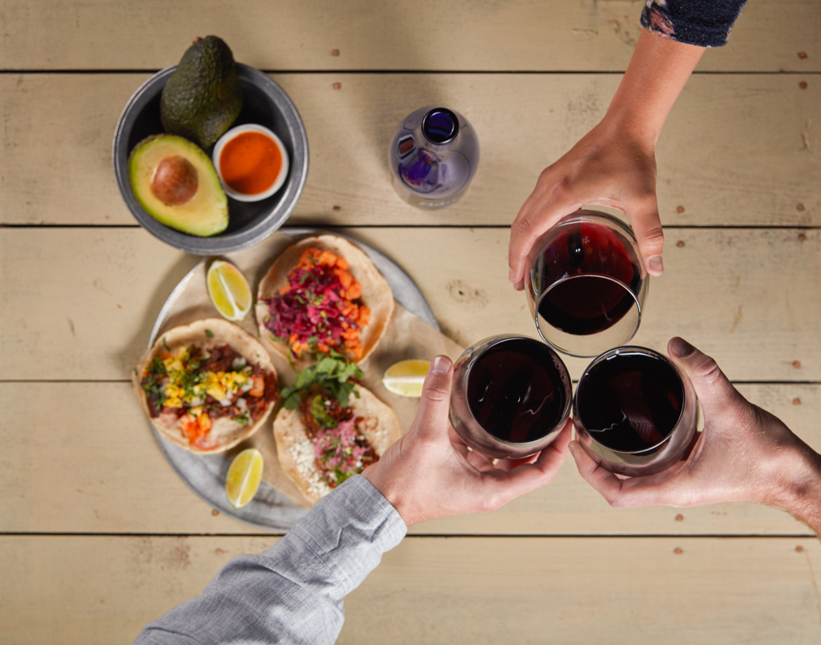 wine food photography michigan wine