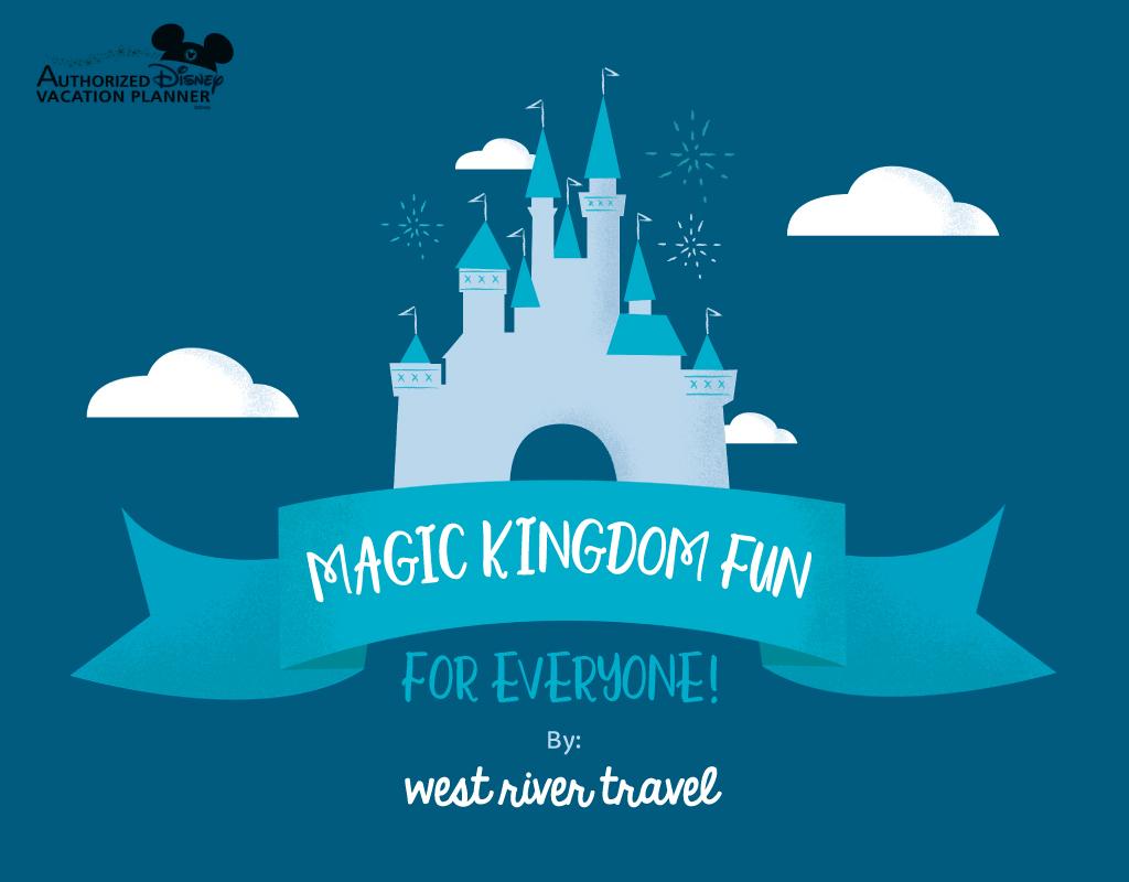 magic kingdom disney world illustration