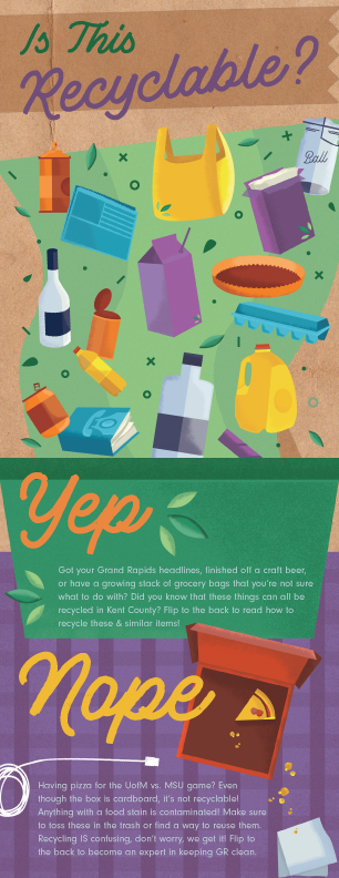 illustrated recycling guide