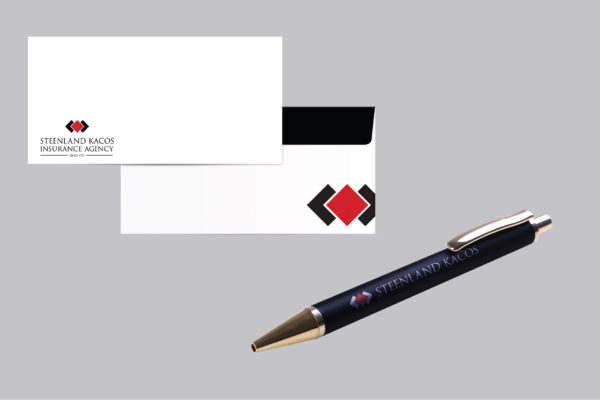 insurance branding materials