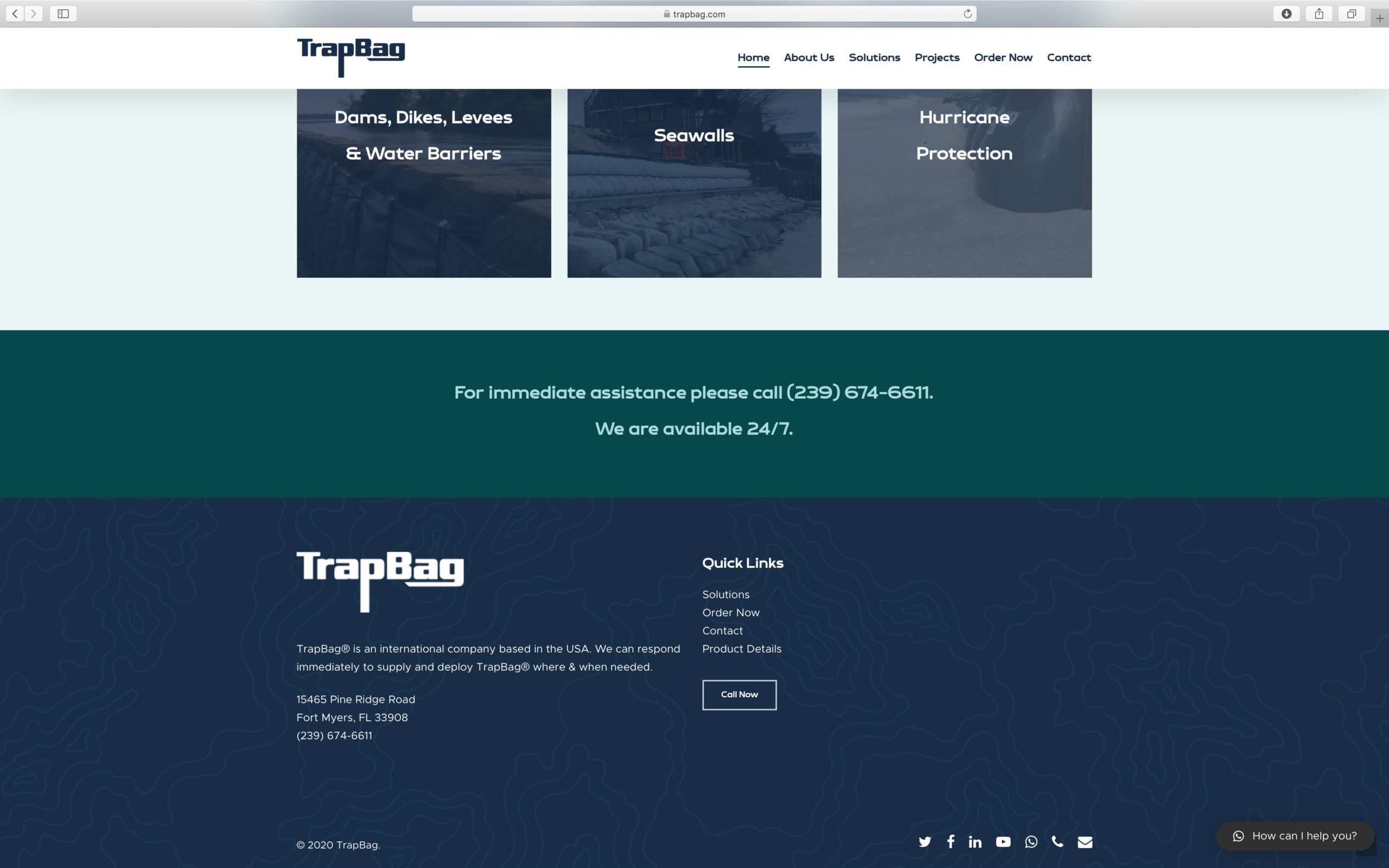 an image of a clean website design for an ecommerce website